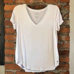 White AEO Soft & Sexy Top